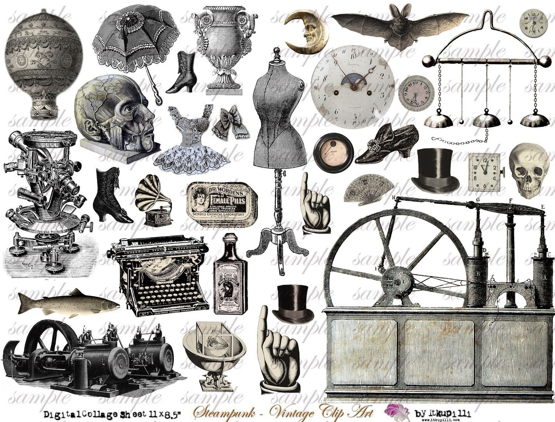 steampunk clipart